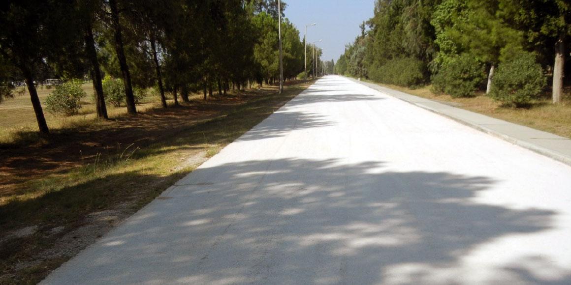 ASPHALT ROAD CONSTRUCTION, INCIRLIK AB, ADANA / TURKEY